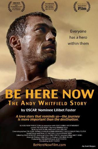 活在当下:安迪·惠特菲尔德的故事海报剧照