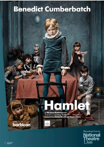 哈姆雷特海报剧照