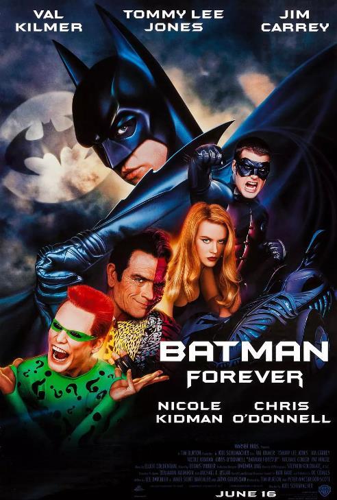 永远的蝙蝠侠海报剧照